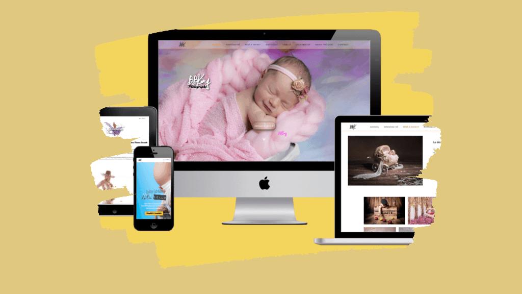 Création de site internet pour Photographe professionnel dans le 06